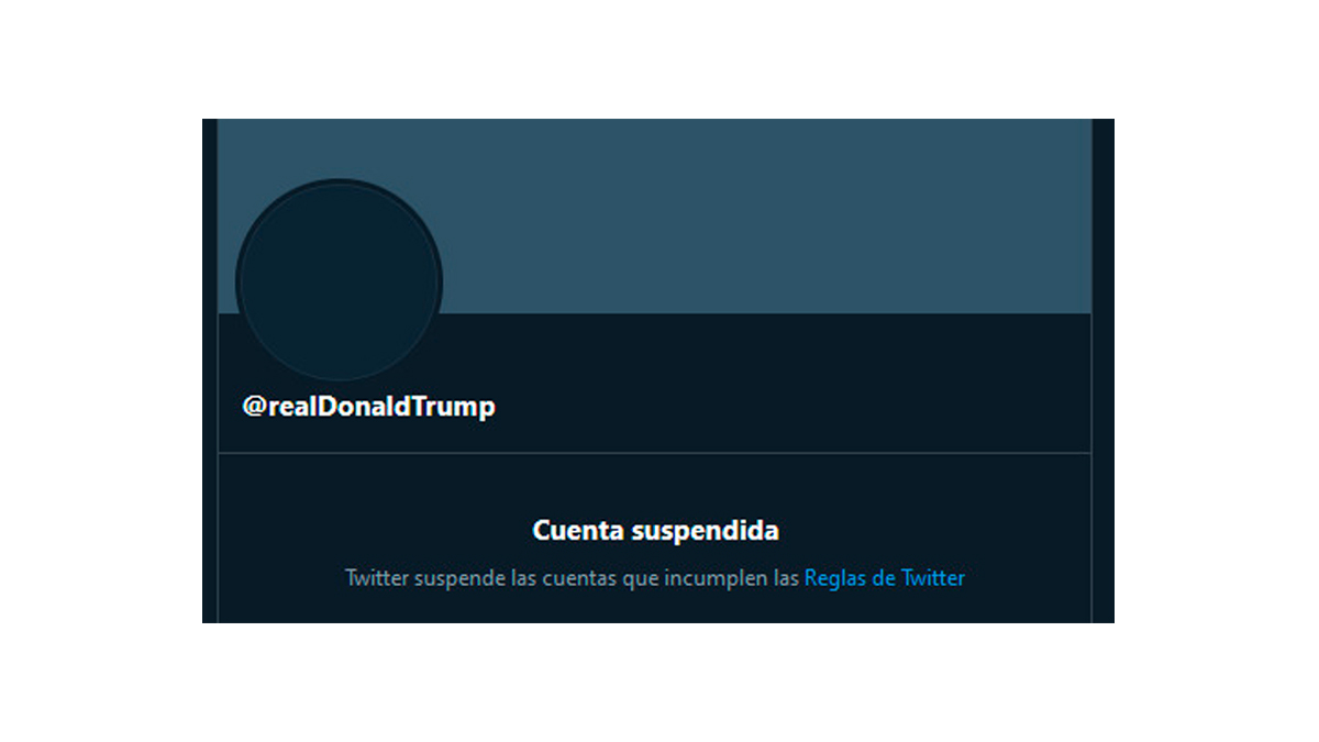 Twitter suspende permanentemente cuenta de Donald Trump