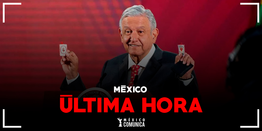 el presidente de México Andrés Manuel López Obrador confirmo atreves de sus redes sociales dar positivo a COVID-19