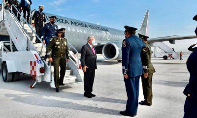 """AMLO inaugura el Aeropuerto de Santa Lucía; """"SABIA"""" decisión cancelar Texcoco"""