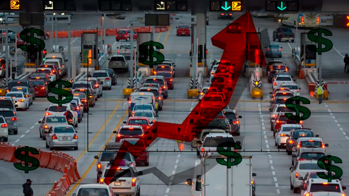 Aumentan tarifas en autopistas, a partir de este 3 de febrero 2021