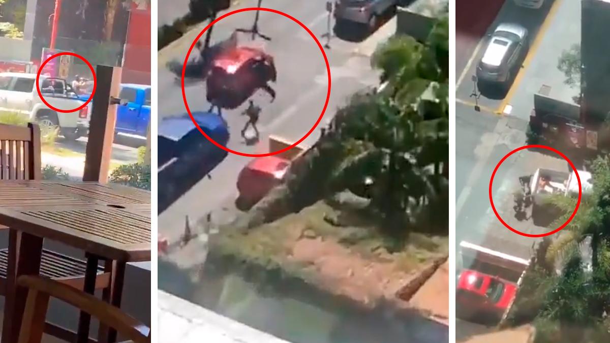 Balacera en Zapopan, Jalisco por un presunto intento de secuestro