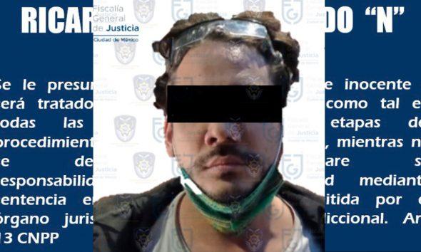 Detienen por presunta violación al youtuber Rix