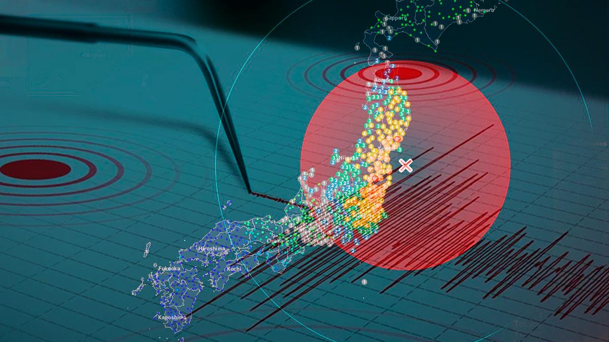 Un sismo de magnitud 7.1 sacude a Japón