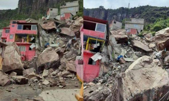 Parte de un cerro se derrumba sobre vivienda en Tlalnepantla 1200x697 1